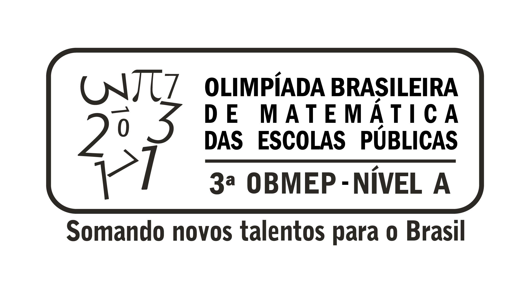 Olimpíada Brasileira de Matemática das Escolas Públicas - Nível A